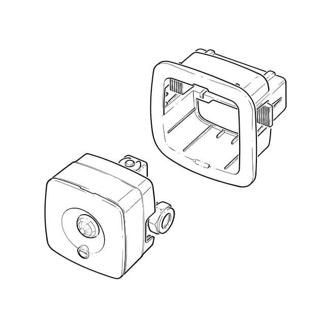 Cistermiser Infrared Flush Control Valve