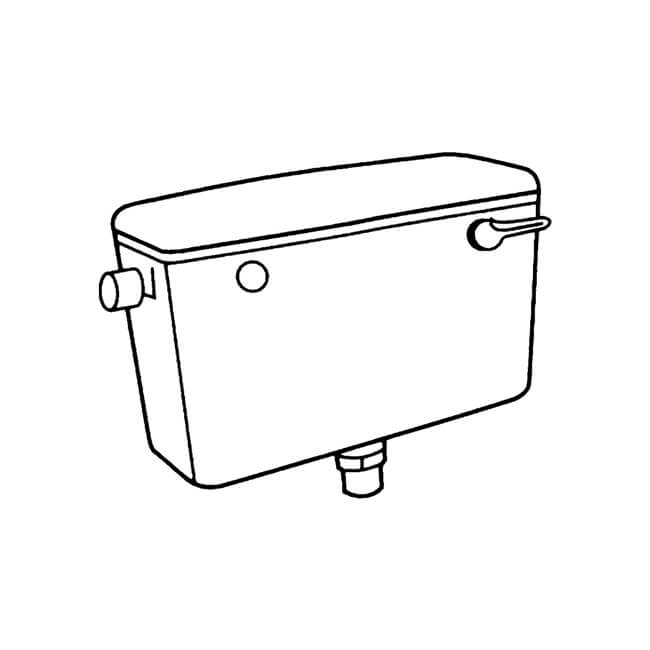 Macdee Concord Low Level Bottom Inlet Cistern 6/7/9 L