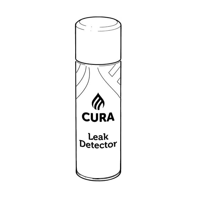 Cura Gas Leak Detection Spray - 400ml