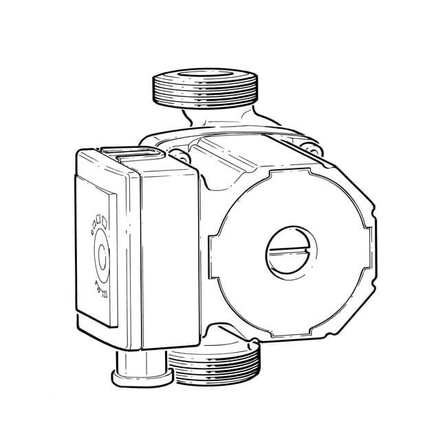 Cura GPA 25-6 II Central Heating Circulator Pump