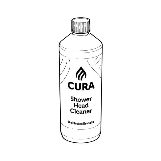 Cura Shower Head Cleaner