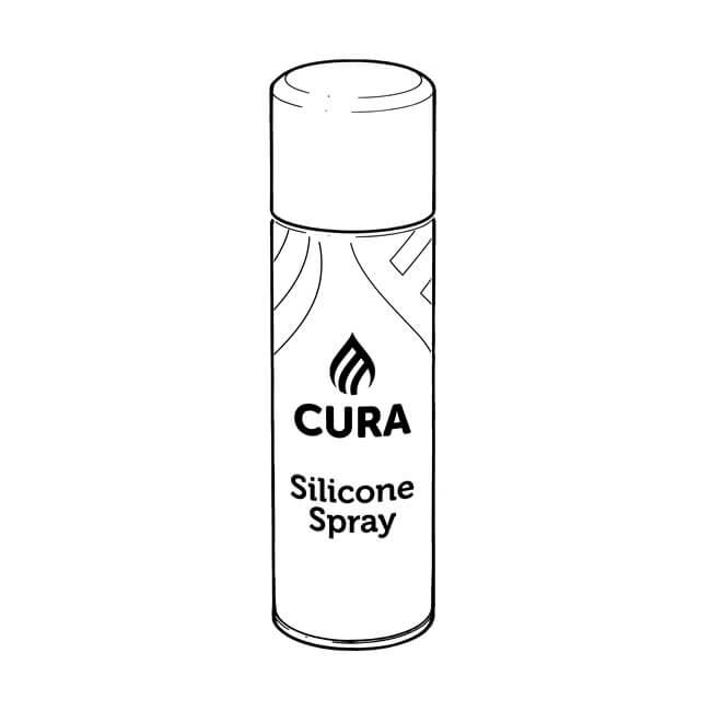 Cura Silicone Spray Plastic Pipe Lubricant - 400ml