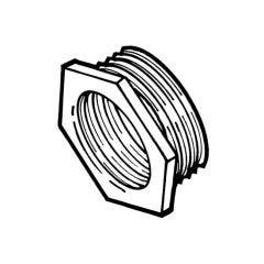 """Brass Threaded Hexagon Bush 1.1/2"""" BSP PM x 3/4"""" BSP PF"""