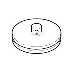 "Chrome Plated Plug Basin with 'O' Ring Seal - 1.1/4"""