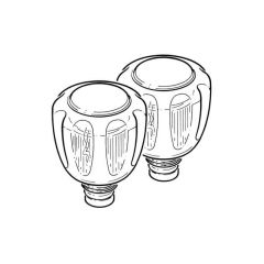 """Basin & Kitchen Contract Tap Reviver - 1/2"""" Pair"""