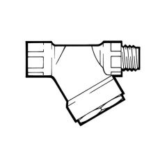 "In-line 'Y' Type Filter - 1/2"" BSP M x F"