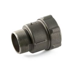 "Primofit® Adaptor Gas 1/2"" BSP M x 20mm MDPE Black"
