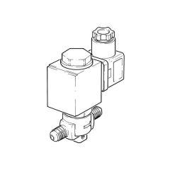 "1/4"" Flare - Solenoid Valve - 230 V AC"
