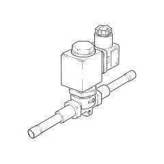 """1/4"""" Solder - Solenoid Valve - 230 V AC"""