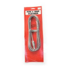 "Pipe & Sink Flexible Steel Cleaner - 1/4"" x 12ft"