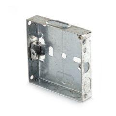 Flush Fitting Pattress Box - 1 Gang, 16mm Deep