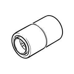 Cuprofit Push-fit Coupler - 10mm