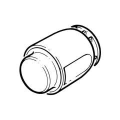 Hep2O® Demountable Stop End - 10mm White