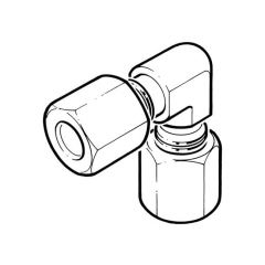 Stainless Steel Elbow - 10mm Compression