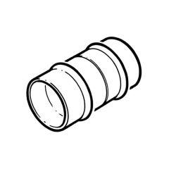 Solder Ring Straight Coupling - 10mm