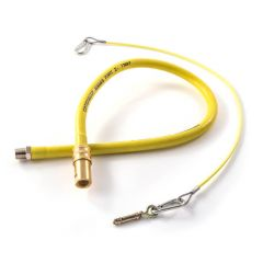 "Quick Release Braided Catering Hose - 1/2"" x 1000mm"