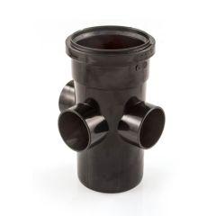 Soil & Vent Boss Pipe Ring Seal - 110mm Black