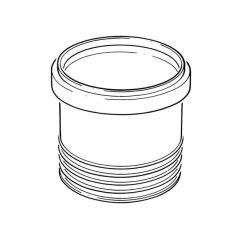 Soil & Vent Drain Connector - 110mm Grey