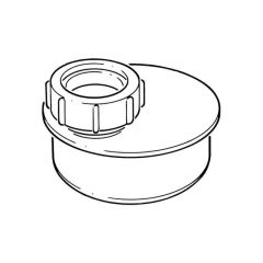 Waste Pipe Adaptor - 110mm x 32mm Single To Socket