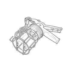 110 V - Gripper 2000 Lamp