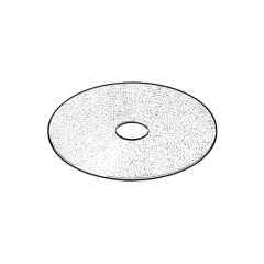115 mm x 22 mm - Medium Grade Fibre Sanding Disc