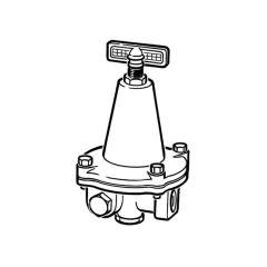 Clesse Propane High Pressure Regulator - 18 kg/hr
