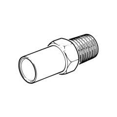 """Spare Adaptor - 12mm x 1/4"""" BSP M"""