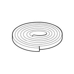 Boiler Casing Foam Strip - 12mm x 6mm x 10m