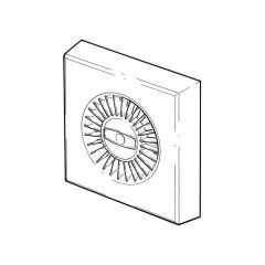 120 mm - Fan With Timer - Wall Fan