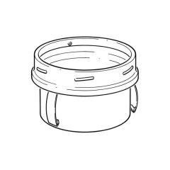Schiedel B Vent Flex to Vent Connector - 125mm