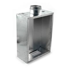 Schiedel Standard Flue Box for Gas Fires - 125mm