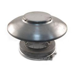 ICID Plus Vent Raincap with Mesh - 125mm