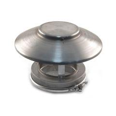ICID Plus Vent Raincap without Mesh - 125mm