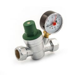 Adjustable Pressure Reducing Valve - 15/22mm