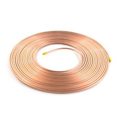 "Copper Coil - 15m x 1/4"", 22 SWG"
