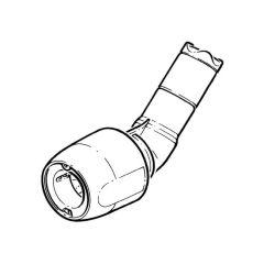 Hep2O® Single Socket Obtuse Bend 135° - 15mm White