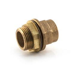 """End Feed Tank Connector 15mm F x 1/2"""" BSP Parallel M"""