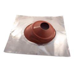 Aluminium Flashing V-Seal 180 - 350 dia. 750 x 900