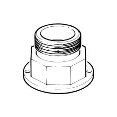 """Gas Meter Blank Off Sealing Adaptor - 1"""" BS 746 M"""