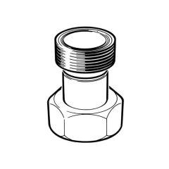 """Gas Meter Adaptor - 1"""" BS 746 F x 1"""" BS 746 M"""