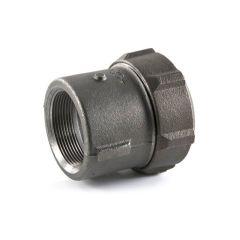 """Primofit® Adaptor Gas 1"""" BSP x 32mm MDPE Black"""