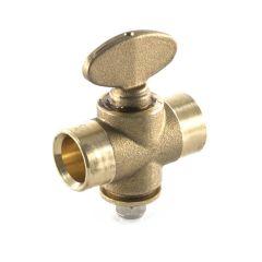 Rigid Fan Gas Cock - 22mm End Feed Capillary