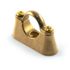 Hospital Bracket - 22mm Brass