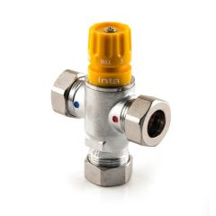 22 mm - Solar Thermostatic Mixing Valve