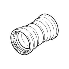 Tectite Sprint Push-fit Straight Coupler - 22mm