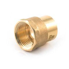 "Solder Ring Connector - 22mm x 1/2"" BSP F"