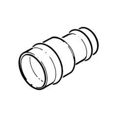 Solder Ring Reducing Coupler - 22mm x 15mm