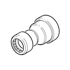 Tectite Sprint Push-fit Reducing Coupler 22mm x 15mm