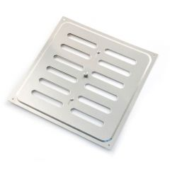 Hit & Miss Ventilator - 241mm x 241mm, Aluminium