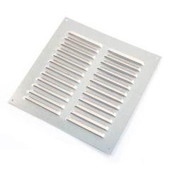 Louvred Ventilator - 241mm x 241mm, Aluminium